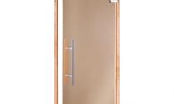 Стеклянные двери: достоинства и недостатки