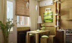 Этнический стиль и бамбуковые обои